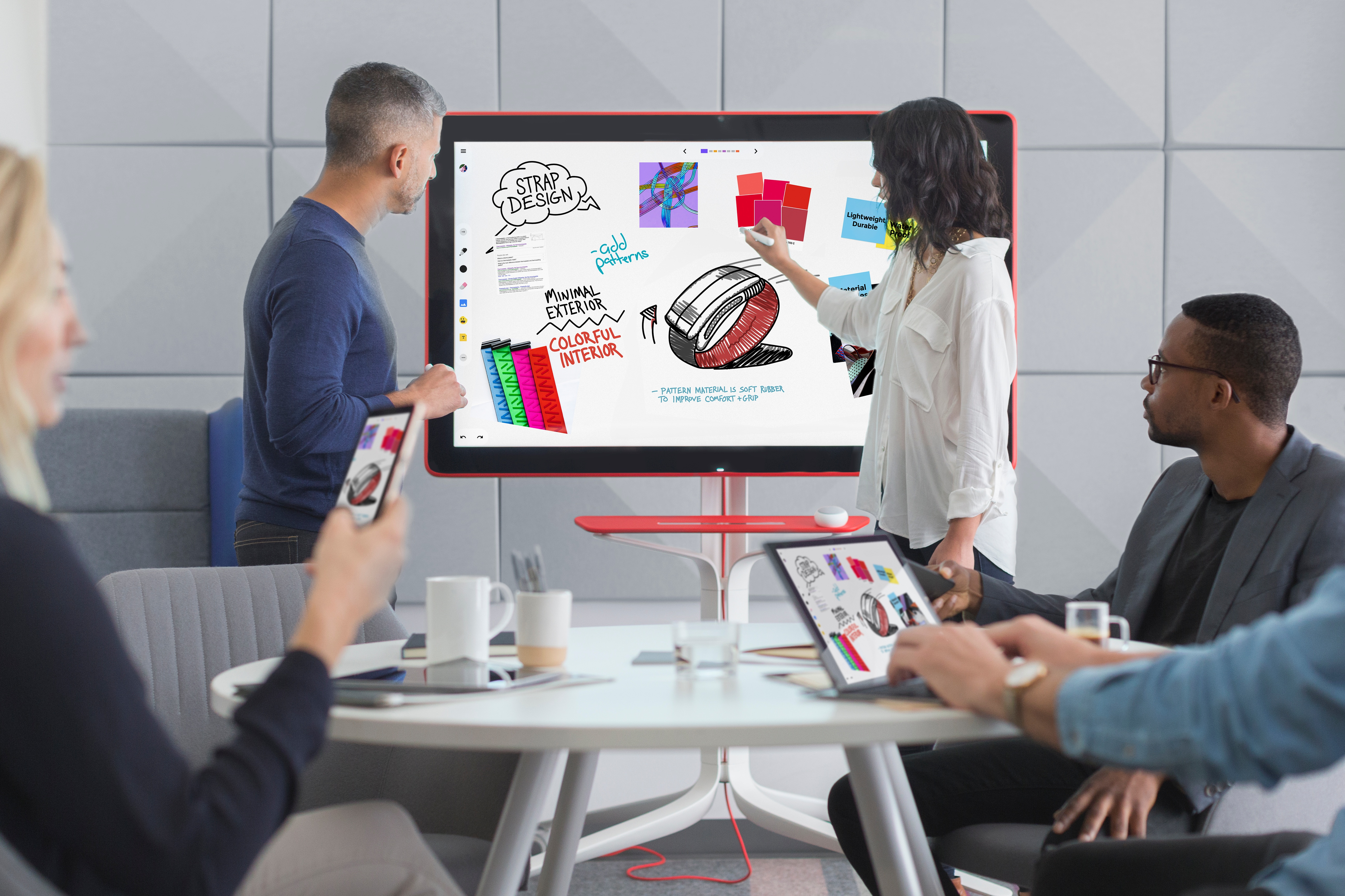 Jamboard for team collaboration available through Ancoris, official reseller