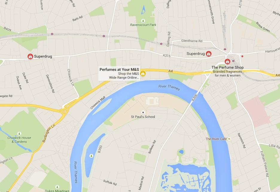Remove Compeors' ads from your Google Maps Store Locator on