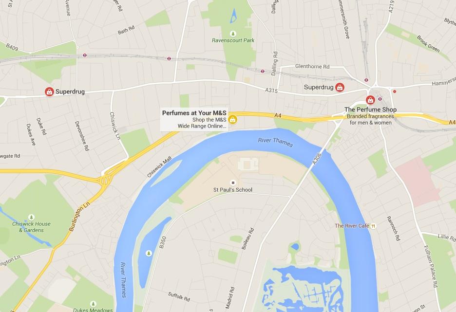 Image of Google Maps