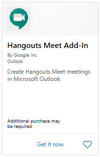 How to improve meetings with Google Hangouts add-in for Office 365